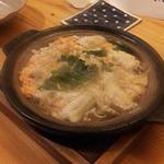 旬魚彩菜 和さ美 - 穴子の卵とじ