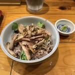 麺ぽーかろぅ - みに焼豚丼