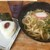 あぶらや - 料理写真:かけうどん150円、おにぎり梅50円(2021.1.9)