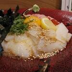 くずし割烹 ぼんた - 「福井の贅沢二色丼」