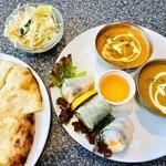 インド・ネパール レストラン エベレスト - スペシャルセット 1386円