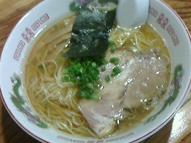 伊達屋 - 中華そば680円