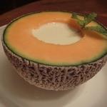 レストラン ポロ - メロンのスープ