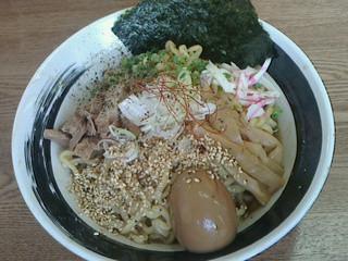 らー麺 たまや零式 - 汁零ソバ・温700円(平成24年9月猫嫁食)
