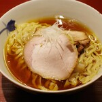 麺 みつヰ - 料理写真:醤油、中太手もみ麺