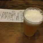 立ち呑み処 たなか屋 - ドリンク写真:明石ビール