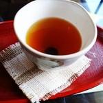 抹茶カフェ 茶歩 - ほうじ茶