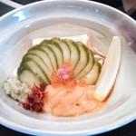 山葵 - 料理写真:生ゆばとウニ