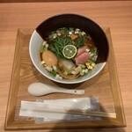 Ramenuxokakicchin - 味玉醤油1350円
