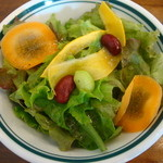 ピッツェリアバール ドォーロ - セットのサラダ