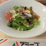 アミーゴ - レトロランチのサラダ
