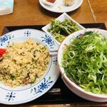 ラーメン悟空 - チャーハン大のセット(^^)