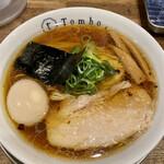 Tombo - 味玉醤油の旨味ソバ