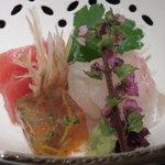 京ぜん - 料理写真:一の膳の刺身