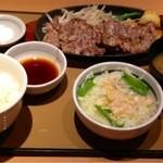 やよい軒 - ビーフステーキ定食  ¥890