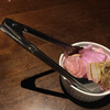 ピッツェリア・エ・バール・レガーメ - 料理写真:お通しはピクルス