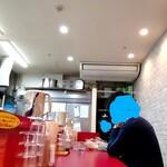 自家製麺 酉 - L字カウンター
