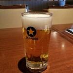 鶏次郎 - ビール
