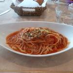 カフェダイニング ガーデン - トマトソースのパスタ