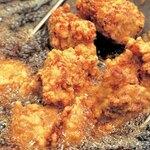 県産若鶏の唐揚げ