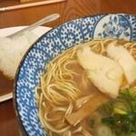 くれ星製麺屋 - 煮干鶏そば昼定食(770円)