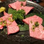 Yakinikunabedonyashikata - 和牛赤身 三種盛り