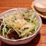 鮨 原田 - 日替わりサラダ