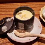 鮨 原田 - 豊田市杉浦養鶏場様の美味しい卵の茶碗蒸し