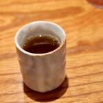 鮨 原田 - ほうじ茶