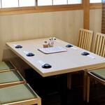 鮨 原田 - テーブル席