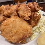 濃厚タンメン三男坊 - タンカラ1,030円のカラアゲのアップ