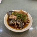 西村食堂 - 造り定食 2,600円 (一人前) (前菜、カマの炙ったやつ)