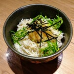 中華soba いそべ - シラスおろしごはん250円税込。