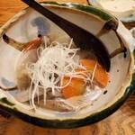 そば道 東京蕎麦style - 黒毛和牛の塩もつ煮