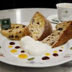 ビチェリン - 季節のパネットーネ3種盛り合わせ