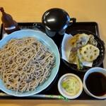 和食だいにんぐ川霧 - 料理写真:野菜天せいろ大盛り(900円+150円)