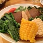 小料理 悦 - 野菜盛り合わせ
