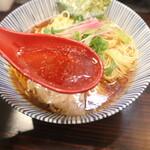 中華そば 糸 - 黒のスープ