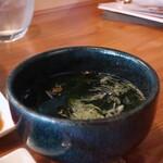 焼肉 MUSHIRO - ワカメスープ