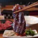 焼肉 MUSHIRO - 和牛カルビリフトアップ