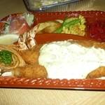 PINE DINER - 料理写真:エビフライごはん付き1000円