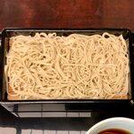 Kandamatsuya - なめこせいろ ¥1,200 の麺