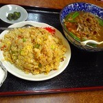 興福順 - 料理写真:チャーハン台湾ラーメン定食