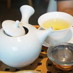 京はやしや - セットのかりがね玄米茶♥