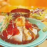 KEYUCA Deli - 【weeklylunch】軽く炙った鰤とイクラ丼