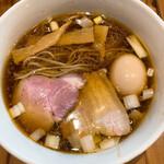 麺処 ぐり虎 - 醤油味玉中華蕎麦 850円