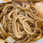 麺処 ぐり虎 - 麺はこんな感じ