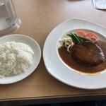 アゼリア - 料理写真:アゼリアハンバーグ スープカップセット