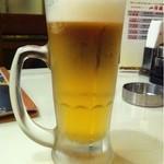 山海楼 - 生ビール(プレミアムモルツ