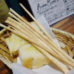 阿佐ヶ谷のイタリア料理ガッターロ - グリッシーニ